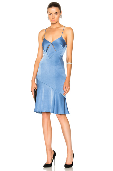 for FWRD Diamond Mini Cut Out Cocktail Dress