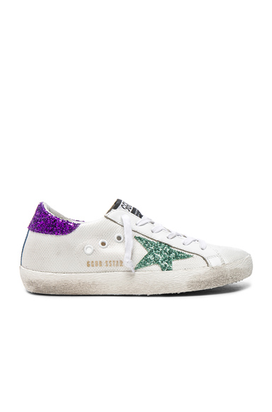 Mesh Superstar Low Sneakers