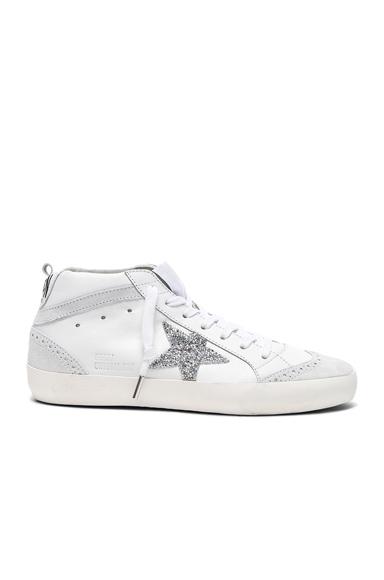 Swarovski Crystal Embellished Mid Star Sneakers