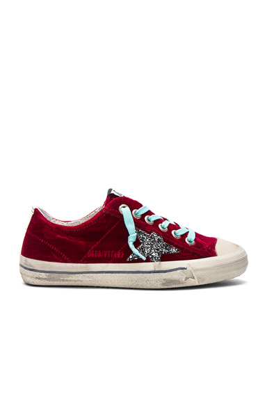 Velvet V Star 2 Sneakers