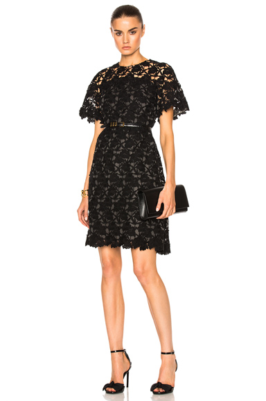 Macrame Fit & Flare Dress