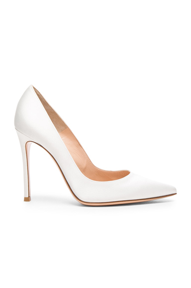 Satin Gianvito Pumps