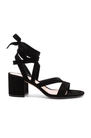 Suede Janis Low Sandals