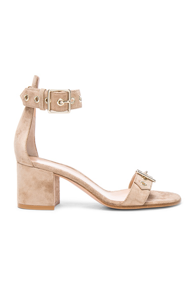 Suede Hayes Buckle Detail Sandals