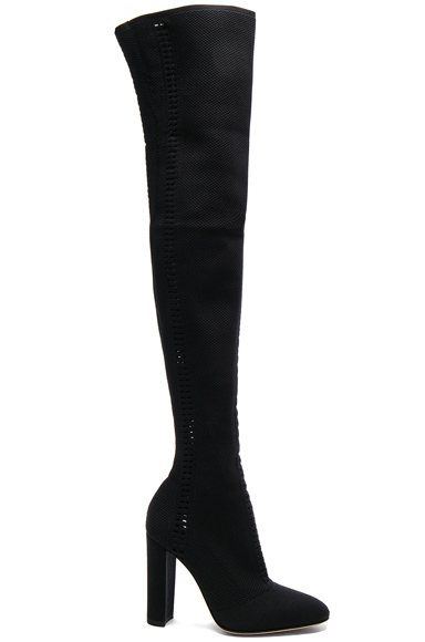 Knit Vires Thigh High Boots