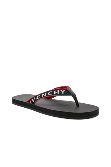 Logo Flip Flop Sandals