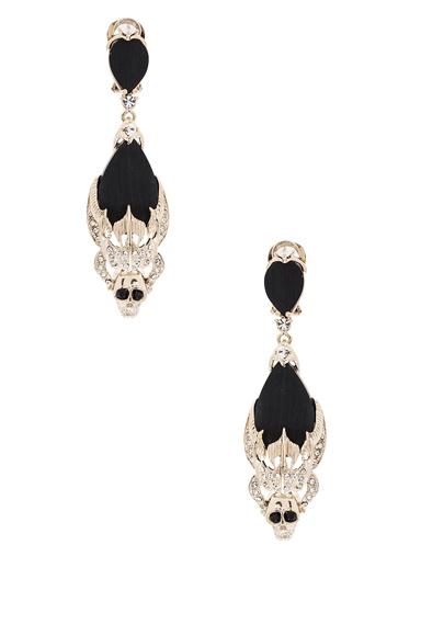 Skulls Pendant Earrings