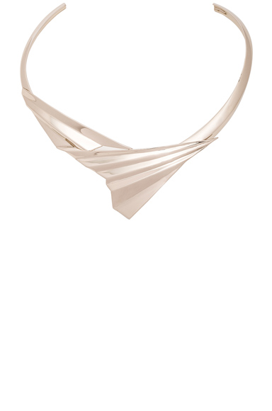 Folded Metal Choker
