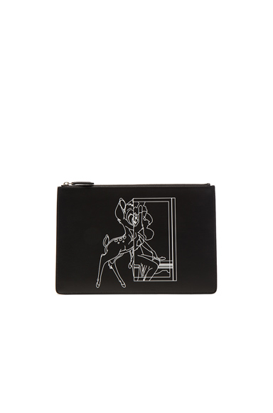 Bambi Printed Medium Pouch