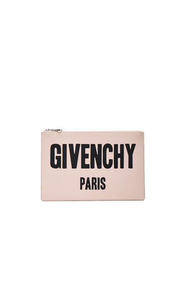 Paris Printed Medium Pouch