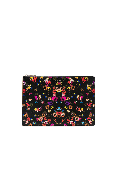 Large Night Pansies Pouch