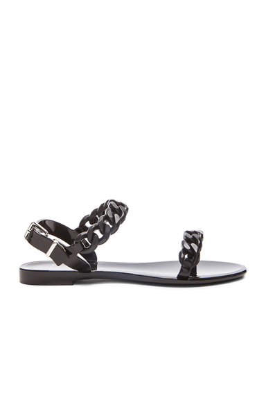 Chain Jelly Sandals