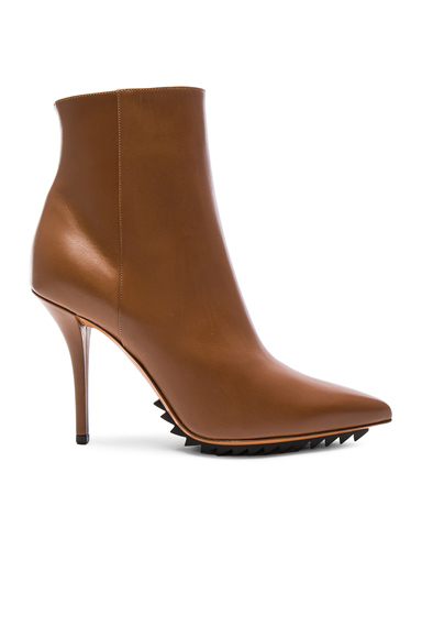 Iron Ankle Leather Booties