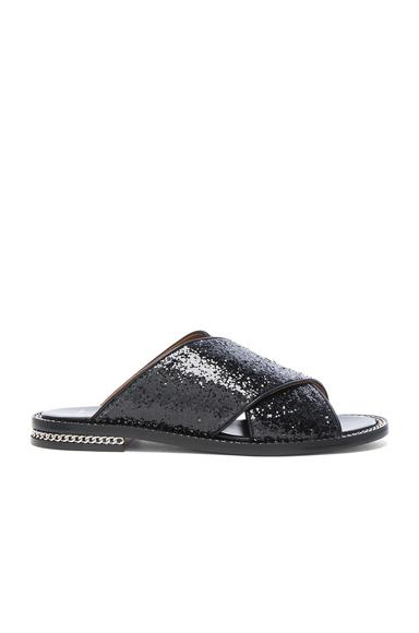 Crisscross Glitter Sandal