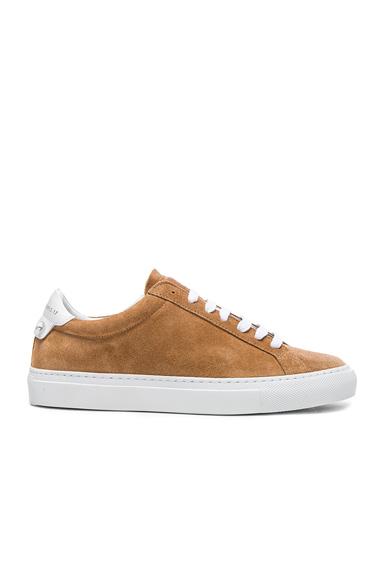 Suede Knots Low Sneakers