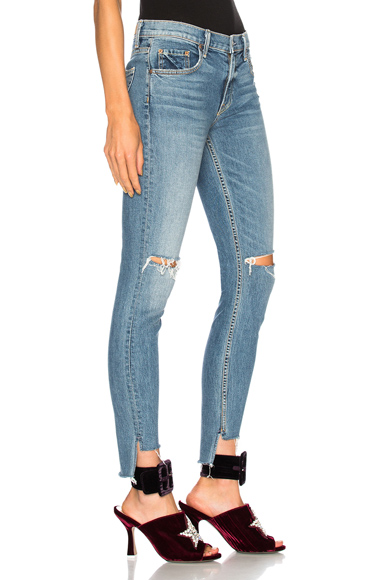 Candice Mid Rise Skinny Jean