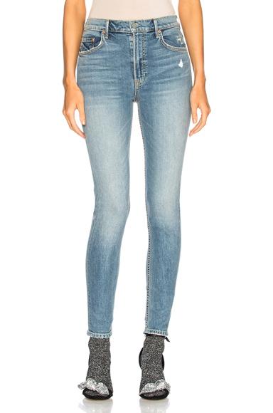 Kendall Super Stretch High Rise Skinny Jean