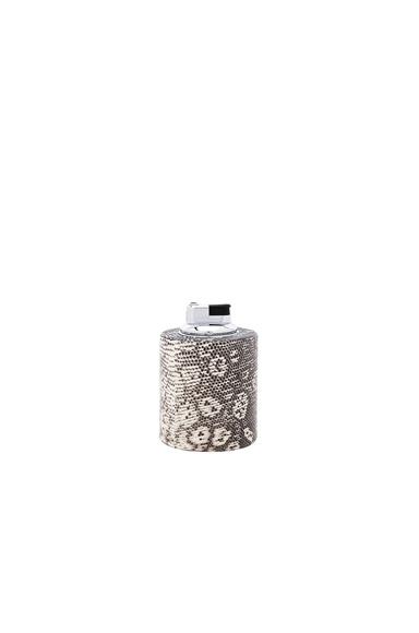 Cylinder Ring Lizard Table Lighter