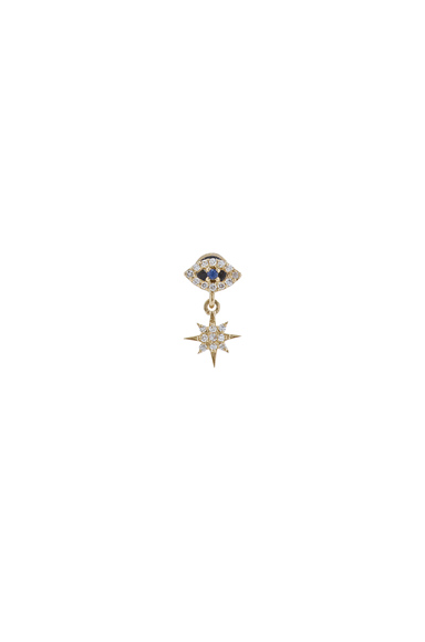 Single Eye Stud Earring