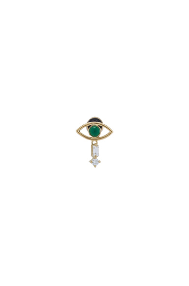 Tiny Single Eye Stud Earring