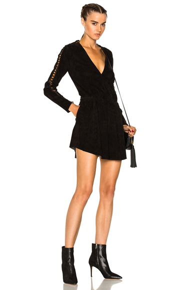 Tawno Suede Dress