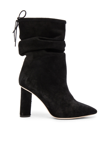 Suede Socky Boots
