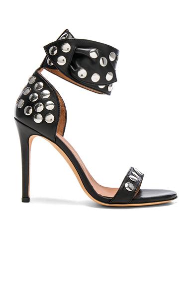Sandarok Leather Heels