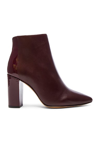Leather Lavia Booties