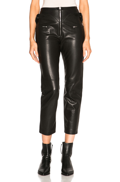 Florrie Leather Pants