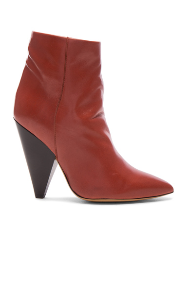 Leather Leydoni Booties