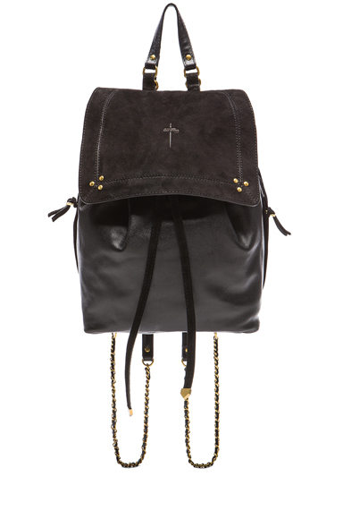 Florent Leather & Suede Backpack