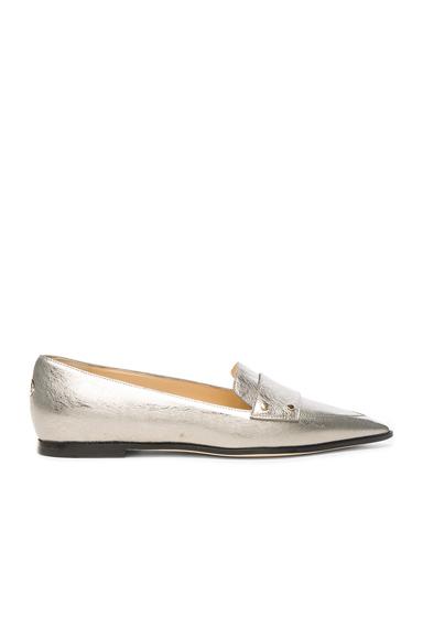 Leather Gia Flats