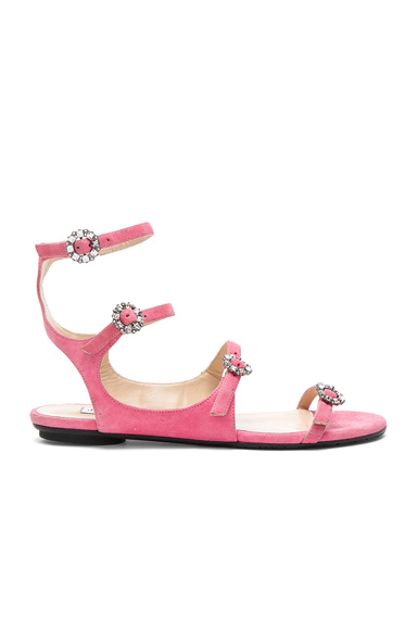 Naia Suede Sandals