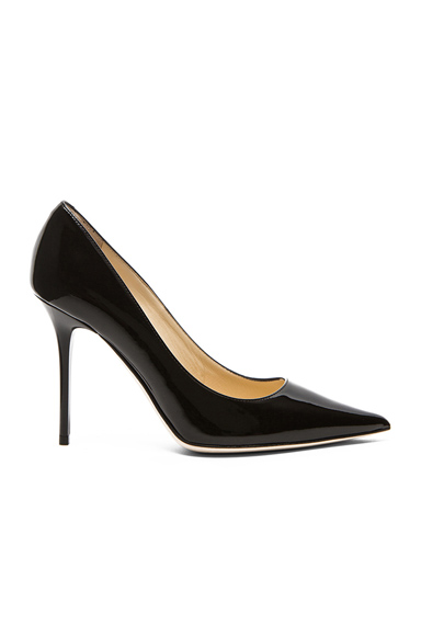Abel Pointed Patent Leather Pumps