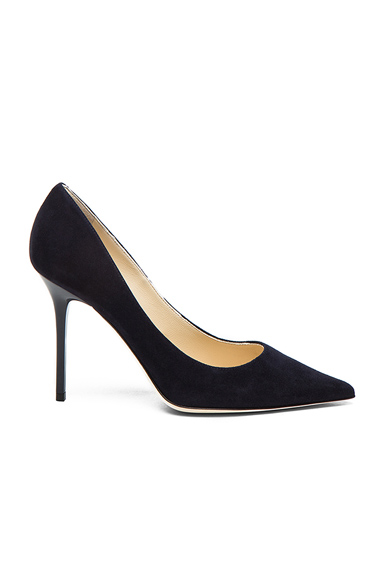 Abel Suede Pointed Pumps