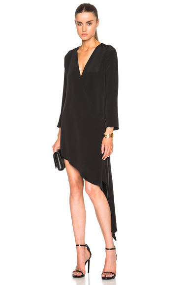 FWRD Exclusive Wrap Dress