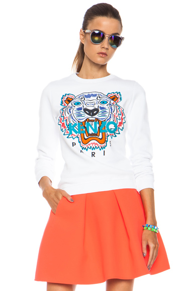 Embroidered Tiger Sweatshirt