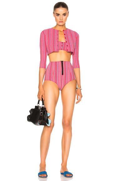Genevieve High Waist Twin Set Bikini