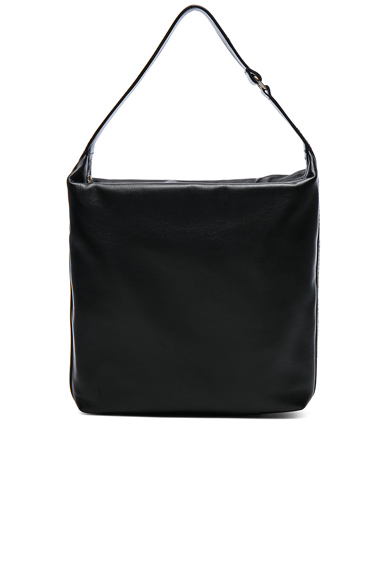 Calf Leather Medium Hobo Bag