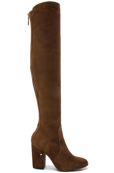 Suede Illusion Boots