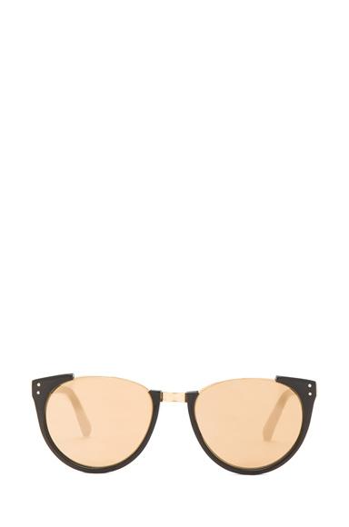 Round Horned Sunglasses