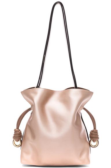 Flamenco Satin Knot Small Bag
