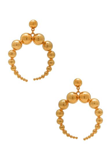 for FWRD Crescent Sphere Earrings