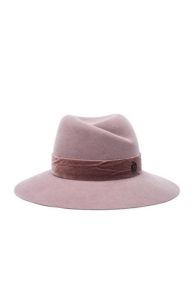 Virginie Hat with Velvet