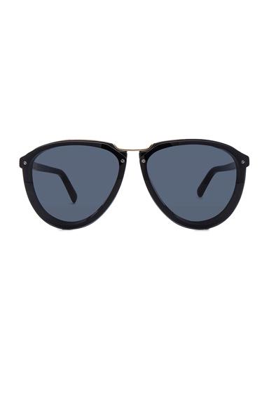 Acetate & Metal Sunglasses