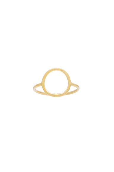 14 Karat Monocle Ring