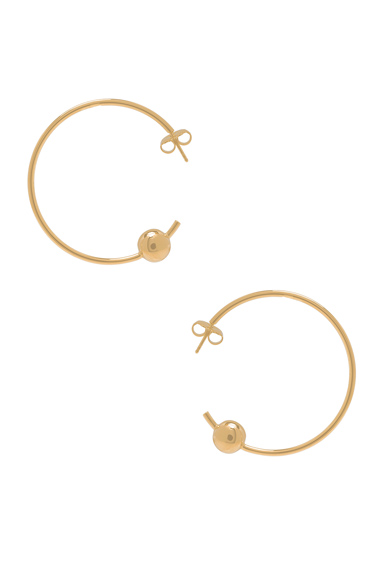Orion Maxi Hoop Earrings