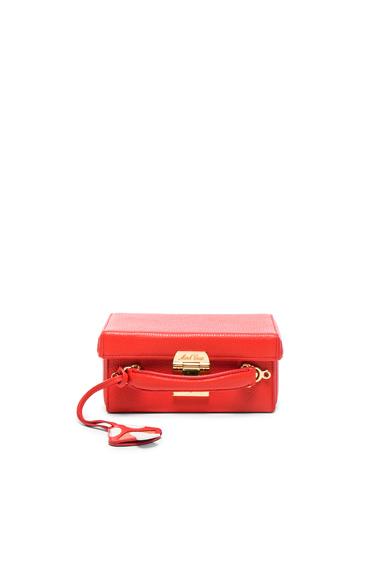 Grace Small Box Bag with Mushroom Charm
