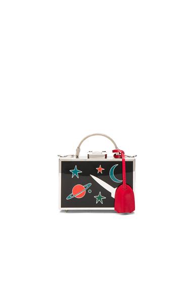 Galaxy Brass Grace Mini Box Bag