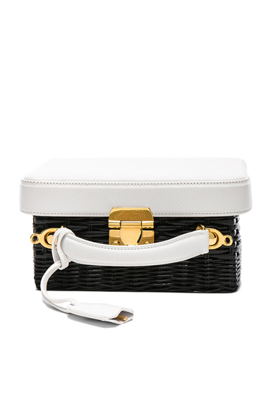 Grace Small Box Rattan Bag